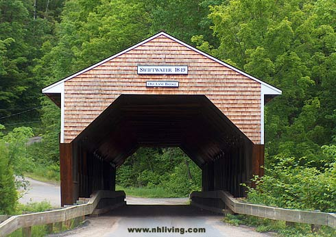 Swiftwater Covered Bridge - New Hampshire Covered Bridge photo by Rick Rock Multimedia Inc. www.nhliving.com