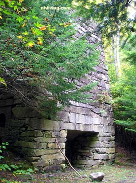 Limestone Kiln in Pike New Hampshire